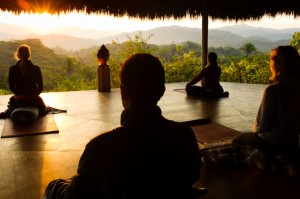 Yoga in Mexico Haramara retreat