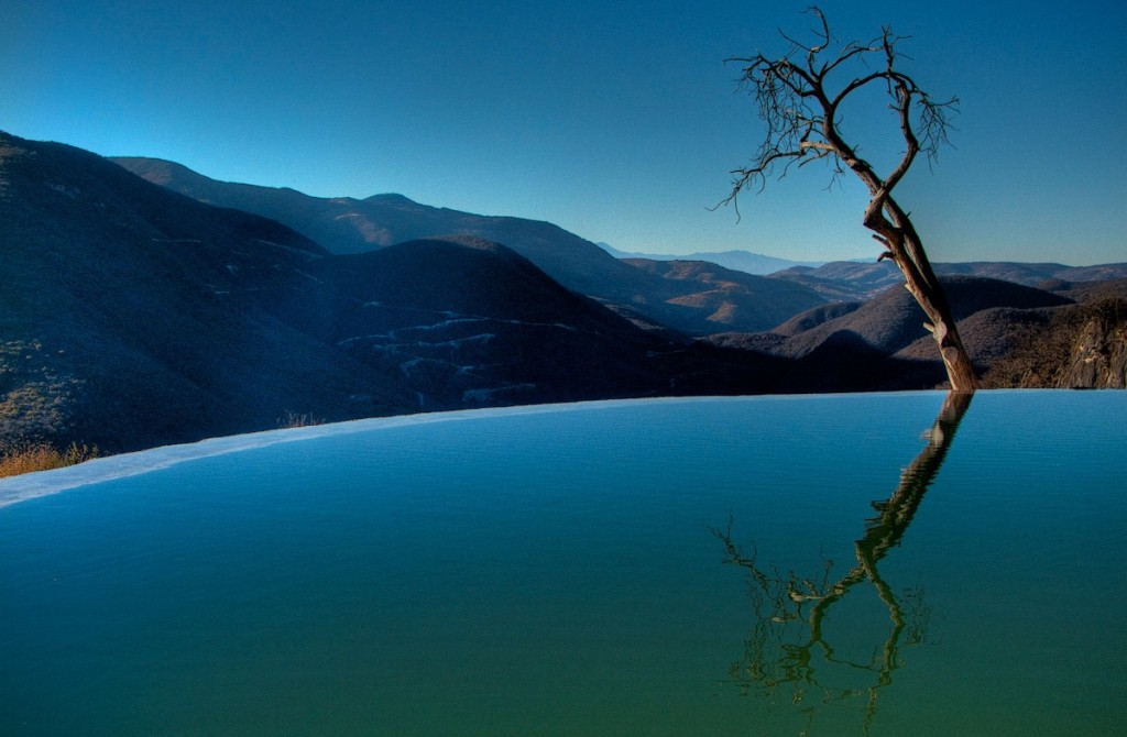 Oaxaca's Bubbling Springs and Petrified Waterfalls:  Hierve el Agua