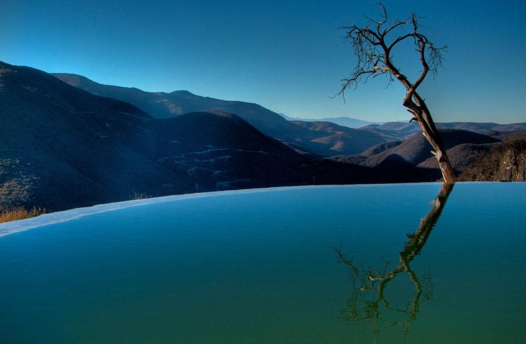 Oaxaca's Bubbling Springs and Petrified Waterfalls:  Hierve el Agua