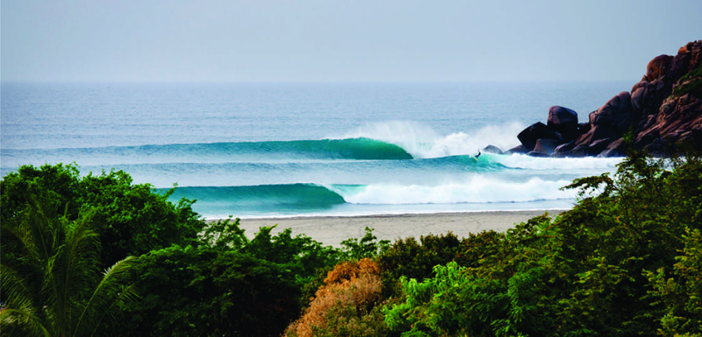 La Bocana wave