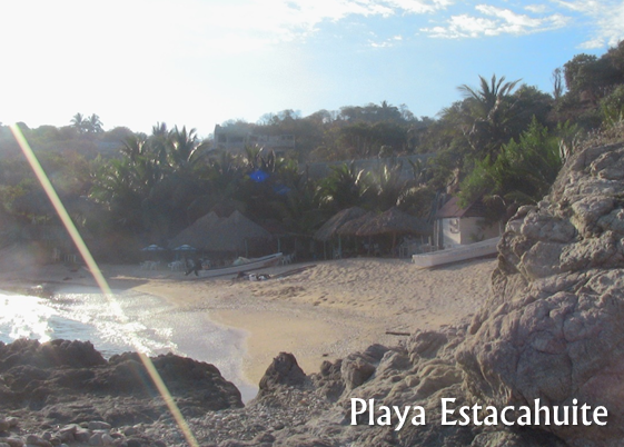 Playa Estacahuite