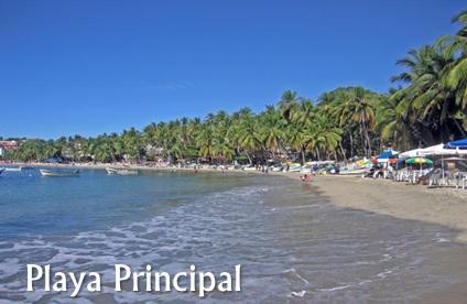 Playa Principal – Puerto Escondido