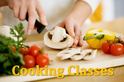 cooking class tour page