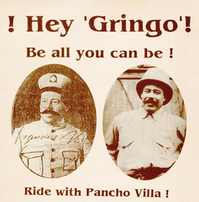 Origin of the word 'Gringo'