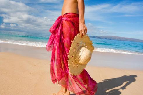 huatulco beach vacation sarong